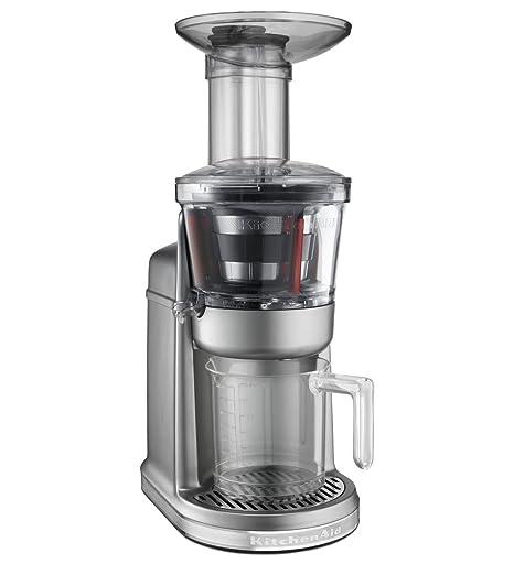 KitchenAid 5KVJ0111 - Exprimidor (Exprimidor, Gris, 80 RPM, 1,22 m