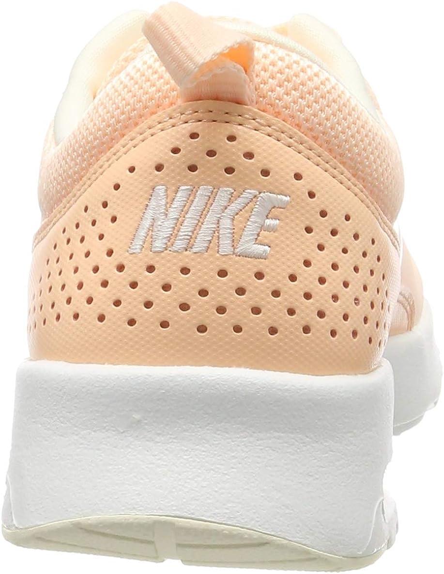 Nike Air Max Thea, Sneakers Basses Femme Orange Crimson Tint Pale Ivory Celery Summit White 805