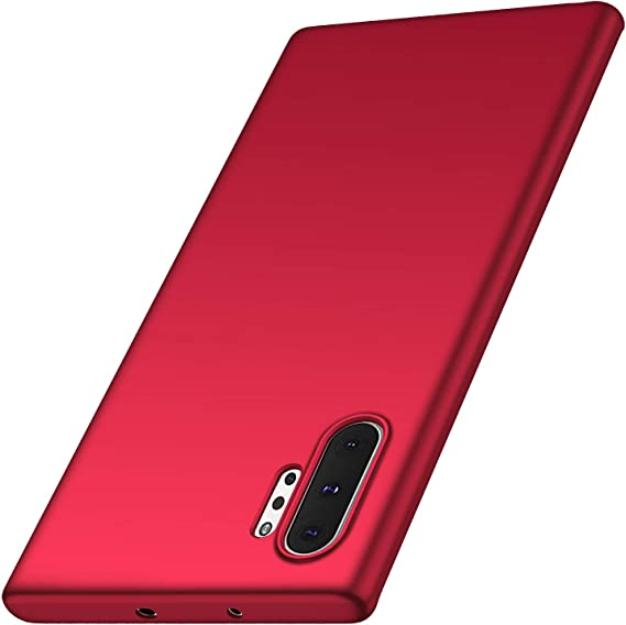 Ultra Thin TPU PC Black-edge Slim Shock Absorption Cover Case compatible with Samsung Note 10+ Anccer for Samsung Galaxy Note 10 Plus Case