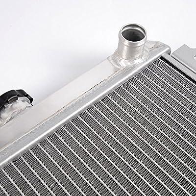 Aluminum Racing Radiator Replacement For 1984-1998 SUZUKI JIMNY SJ413/SJ 413 1.3L SAMURAI/JA51: Automotive
