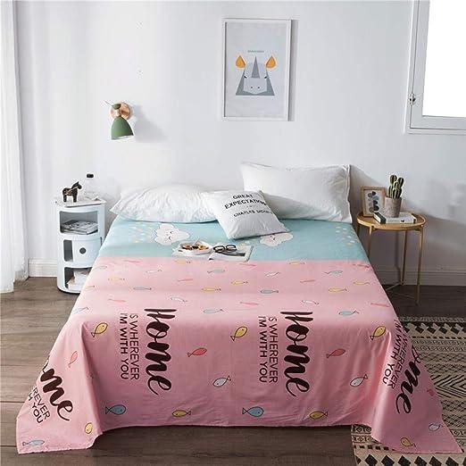 XNSY colchas Infantiles Cama 90 Sábana de algodón Individual ...