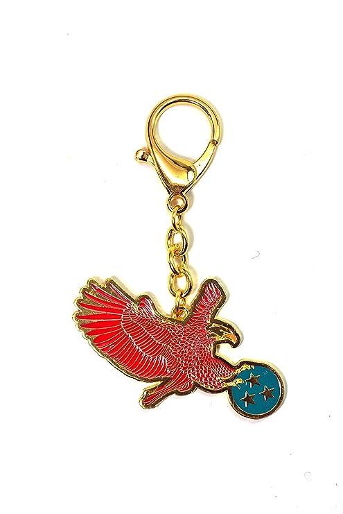 Llavero del año del gallo, 2017, con diseño de ave roja, de ...