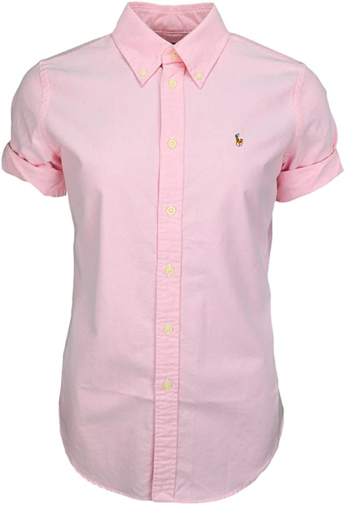 Polo Ralph Lauren Jenny SS Shirt Washed Oxford, Blusa para Mujer