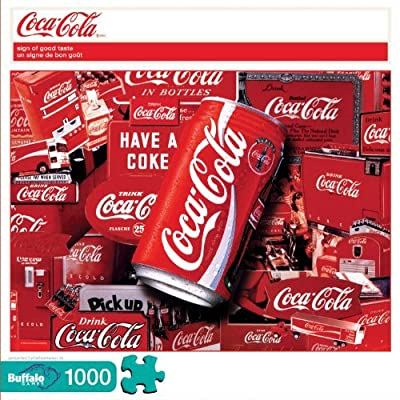 Coca Cola Sign Of Good Taste 1000pc Jigsaw Puzzle By Buffalo Games