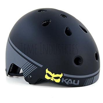 Kali MAHA casco negro/gris - pequeño Bmx monopatín patinete ...
