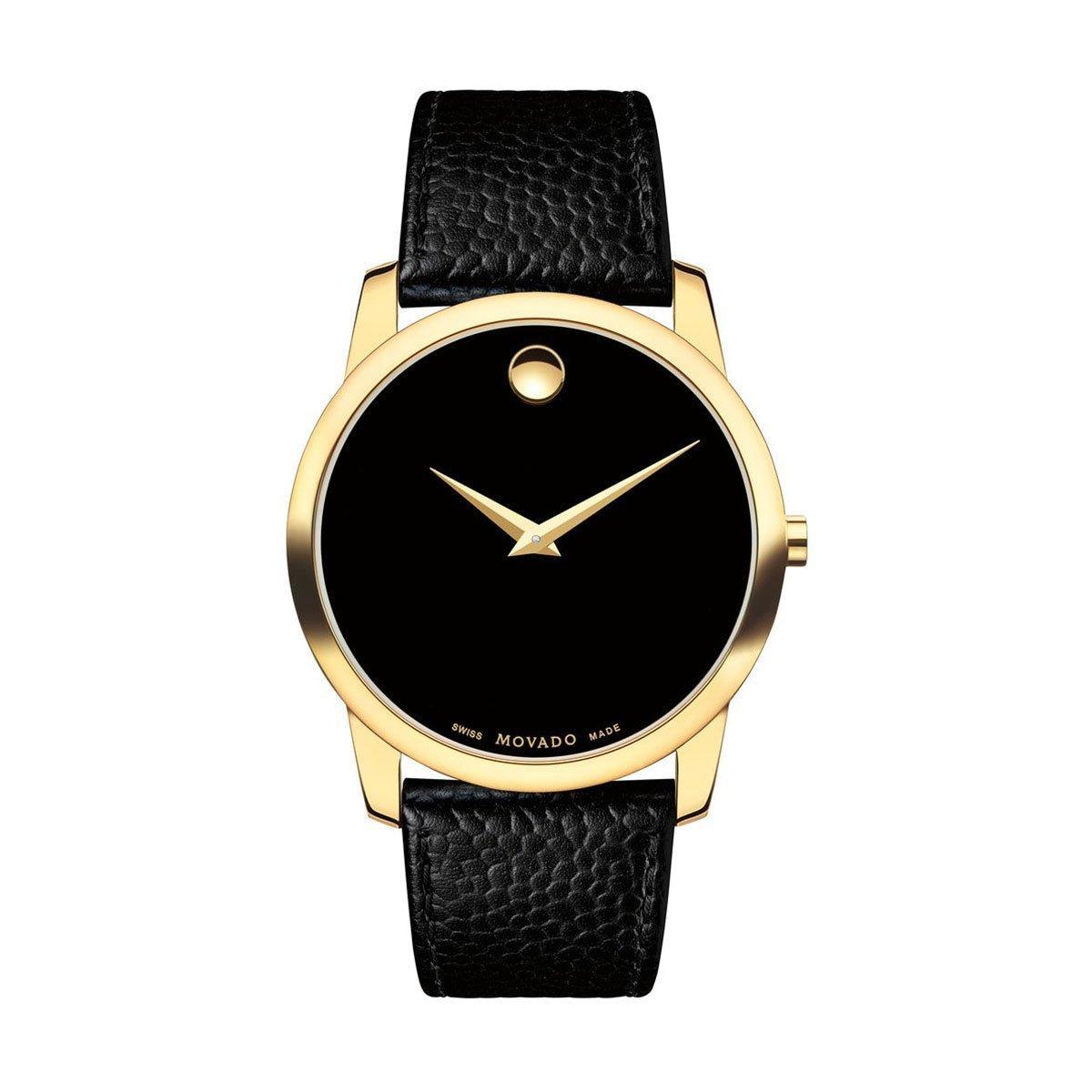 Movado Mens Museum Classic Analog Business Quartz Watch (Imported) 0607014