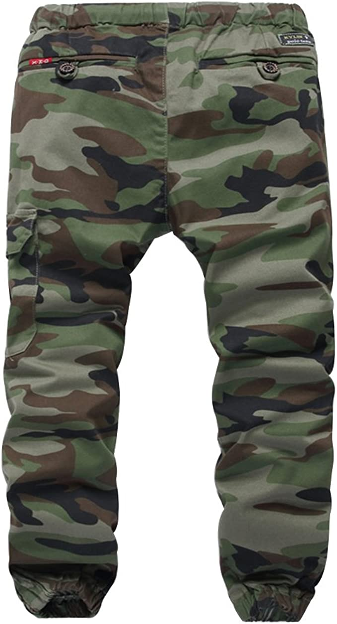 Kids Army Camouflage Combat Trousers Camo Combats Ages 3-13 Yrs