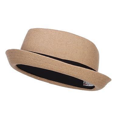 8fc9e8e7b595b5 Wool Upbrim Pork Pie Fedora at Amazon Men's Clothing store: