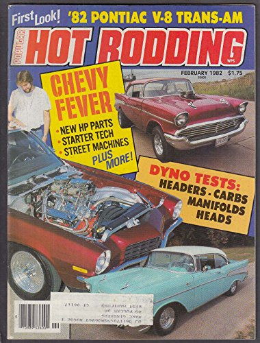 POPULAR HOT RODDING 1982 Firebird Trans-Am Chevy tech 2 -