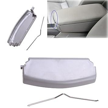 Console Cover Armrest Lid Latch Clip Black for AUDI A4 B6 E177B 02-07