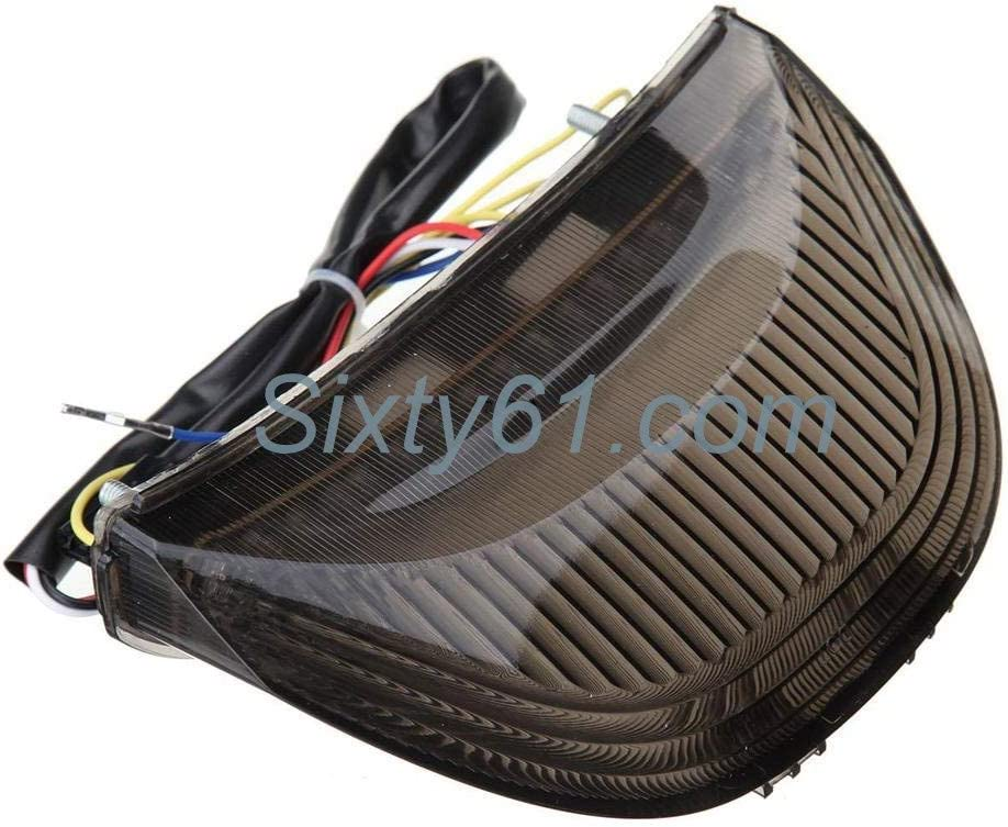 CBR1000RR Sixty61 Smoked Tail Light for Honda CBR 1000RR LED Integrated Turn Signals for 2004 2005 2006 2007