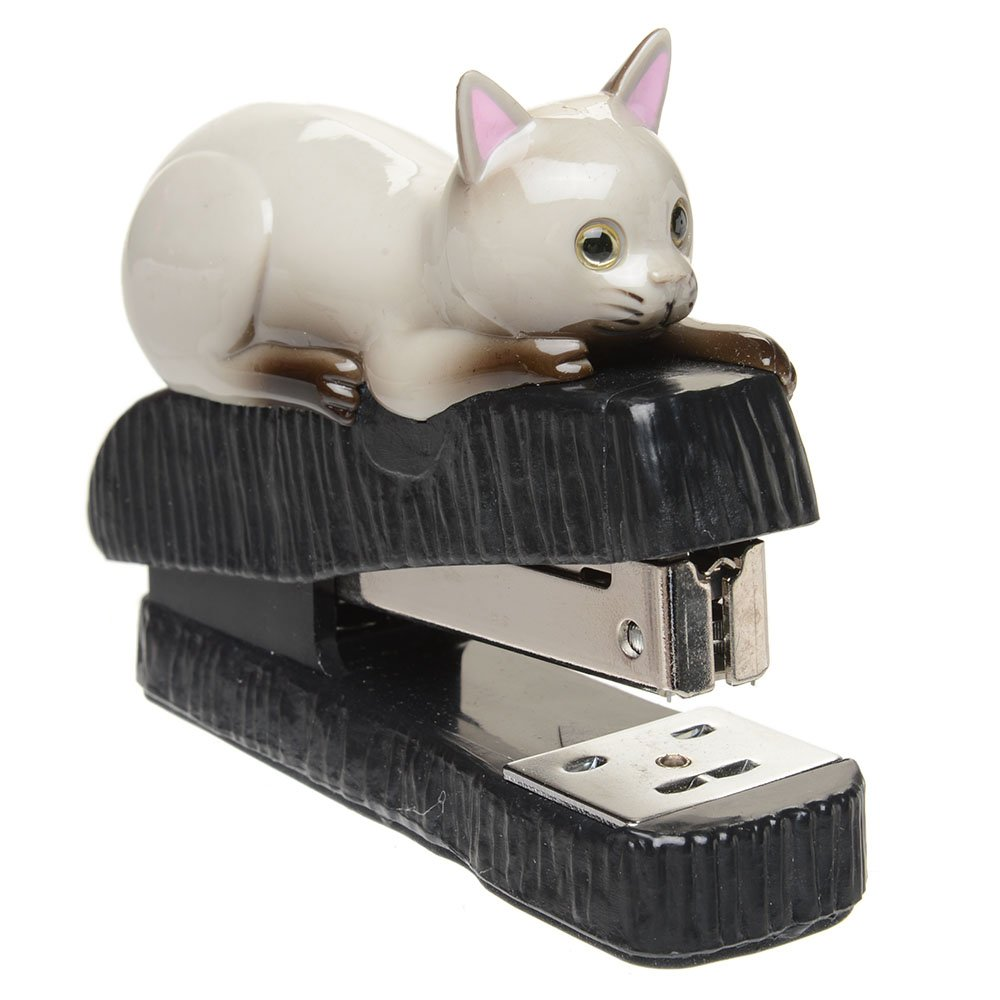 Gray Cat Stapler by Cosa Nova (Image #1)