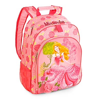 Amazon.com | Disney Store Princess Aurora Backpack Book Bag Back ...