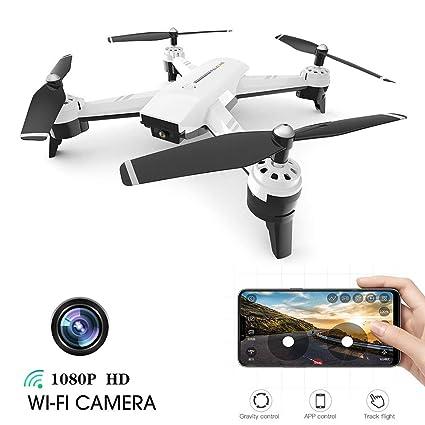 Rclhh Drone con HD 1080P WiFi Cámara FPV Drone con Modo Sin Cabeza ...