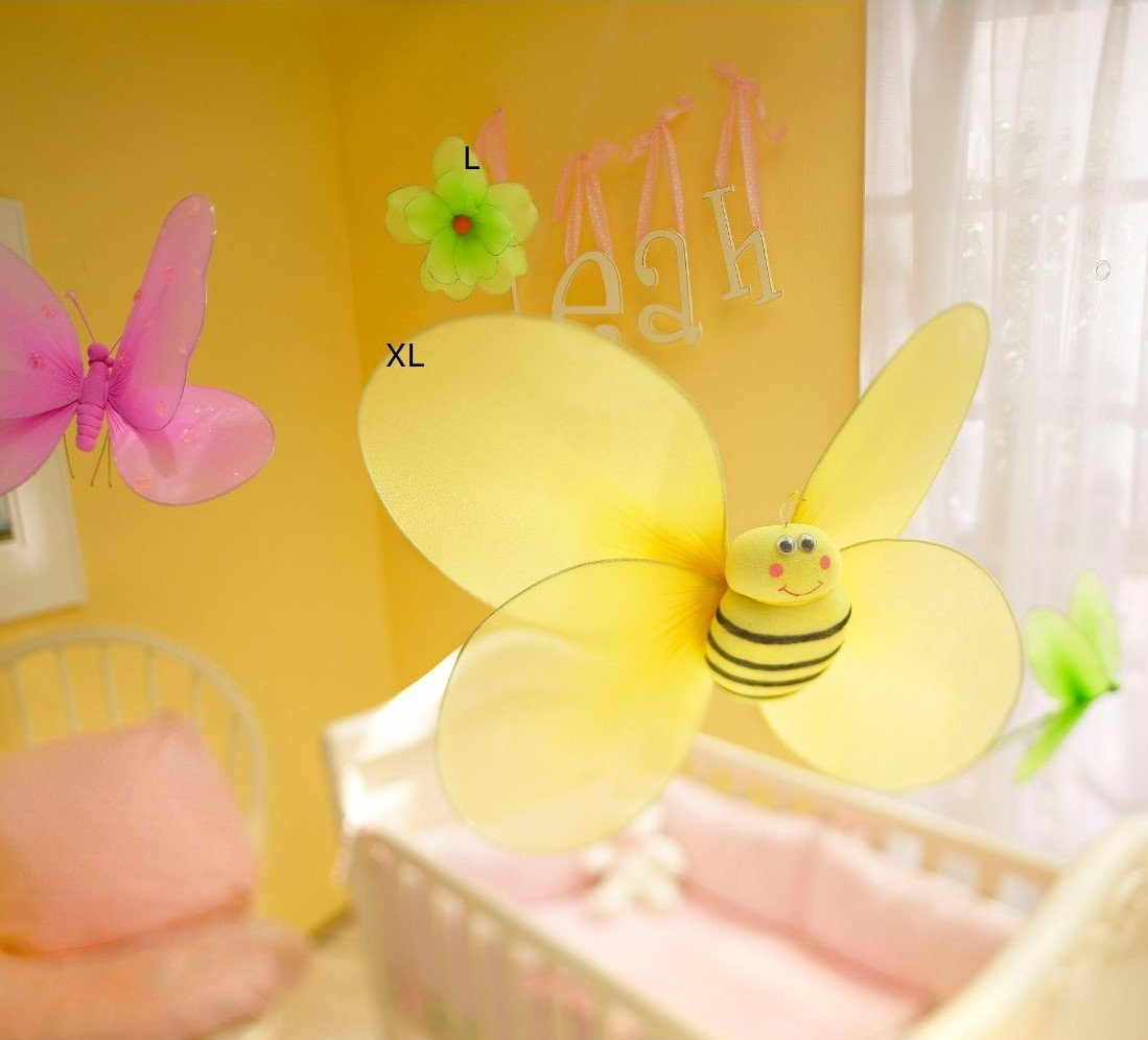 Amazon.com : Nylon Hanging Butterflies Decoration : Baby