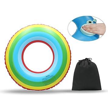 Win-Y-Y Flotador Piscina Playa Inflables Anillo de Natación Verano El Mejor Aire Libre de la Playa Juguetes Aplicar a Niños y Los Adultos: Amazon.es: ...