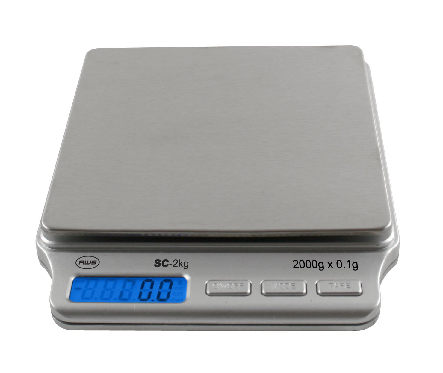 Small Kitchen Weighing Scales Amazoncom American Weigh Scales Amw Sc 2kg Digital Pocket Scale