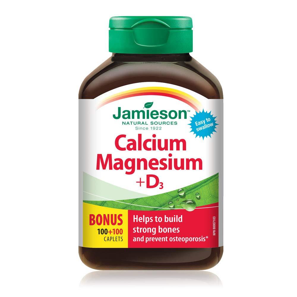 Jamieson Calcium Magnesium +Vitamin D3 200Caplets