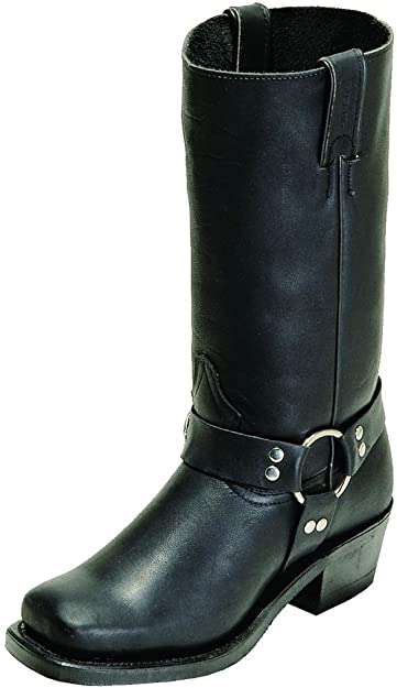 Harness Motorcycle Boot Square Toe