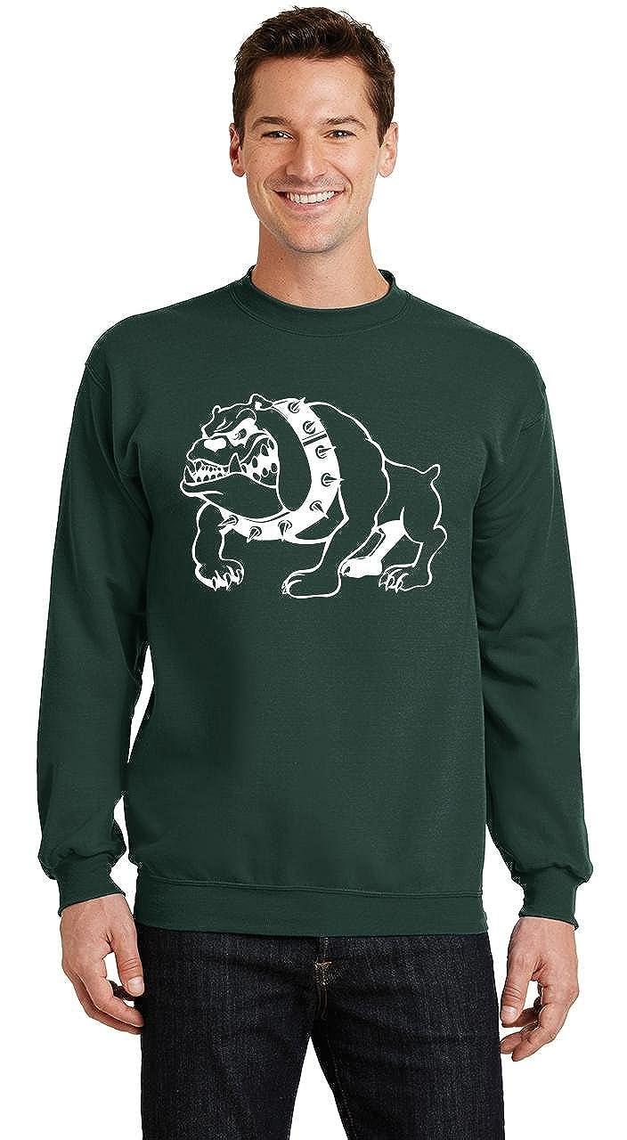 Comical Shirt Mens Bulldog Sweatshirt