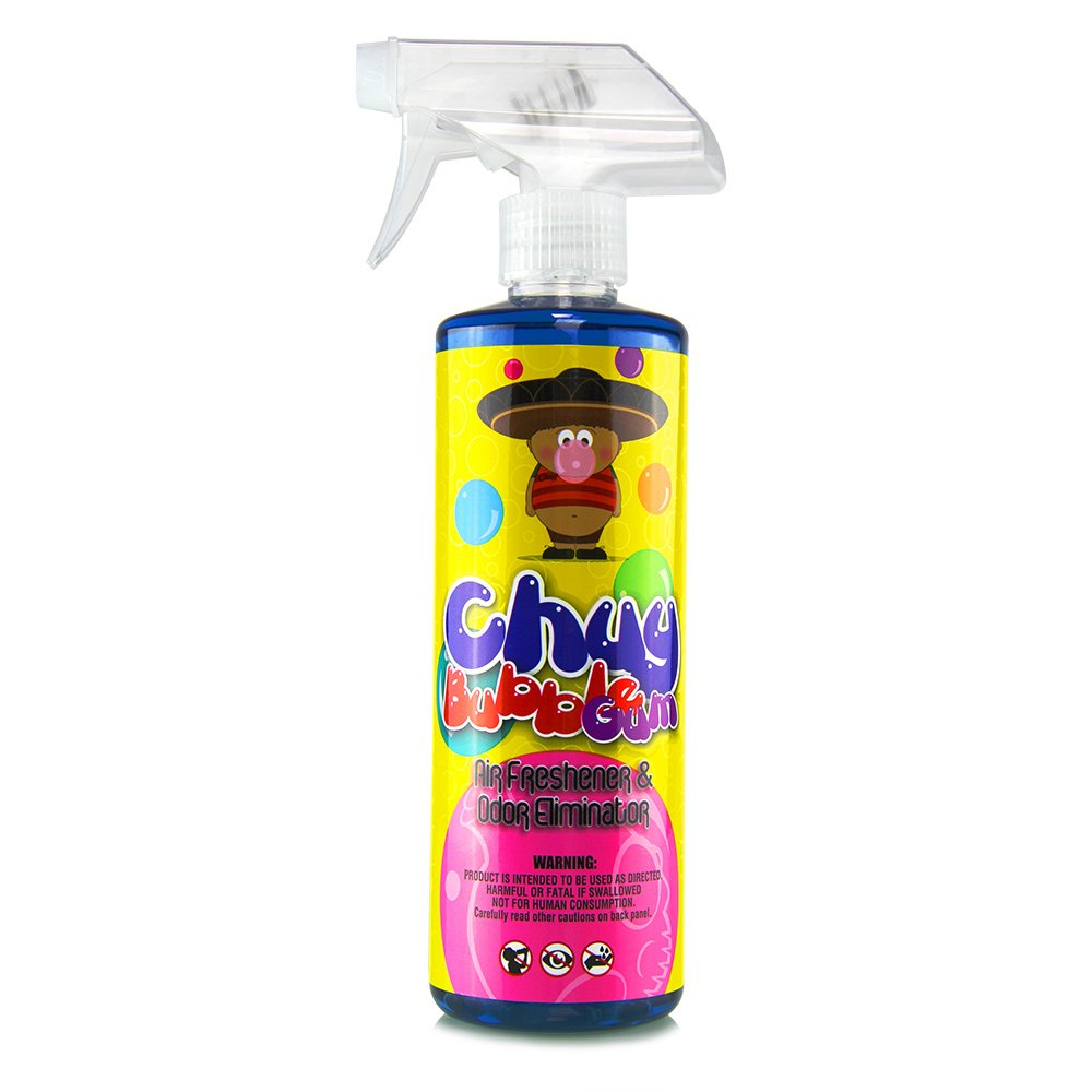 Chemical Guys AIR_221_16 Chuy Bubble Gum Premium Air Freshener and Odor Eliminator  (16 oz)