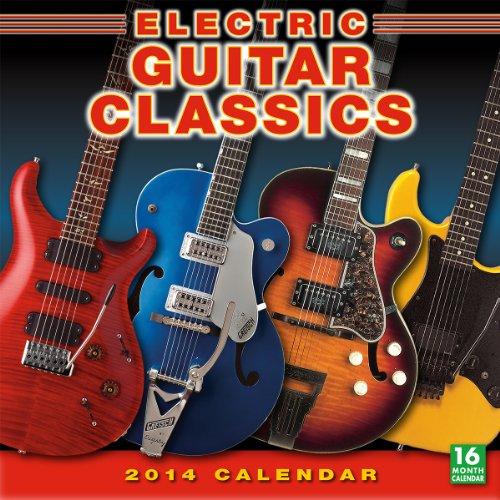 Electric Guitar Classics 2014 Wall (calendar)