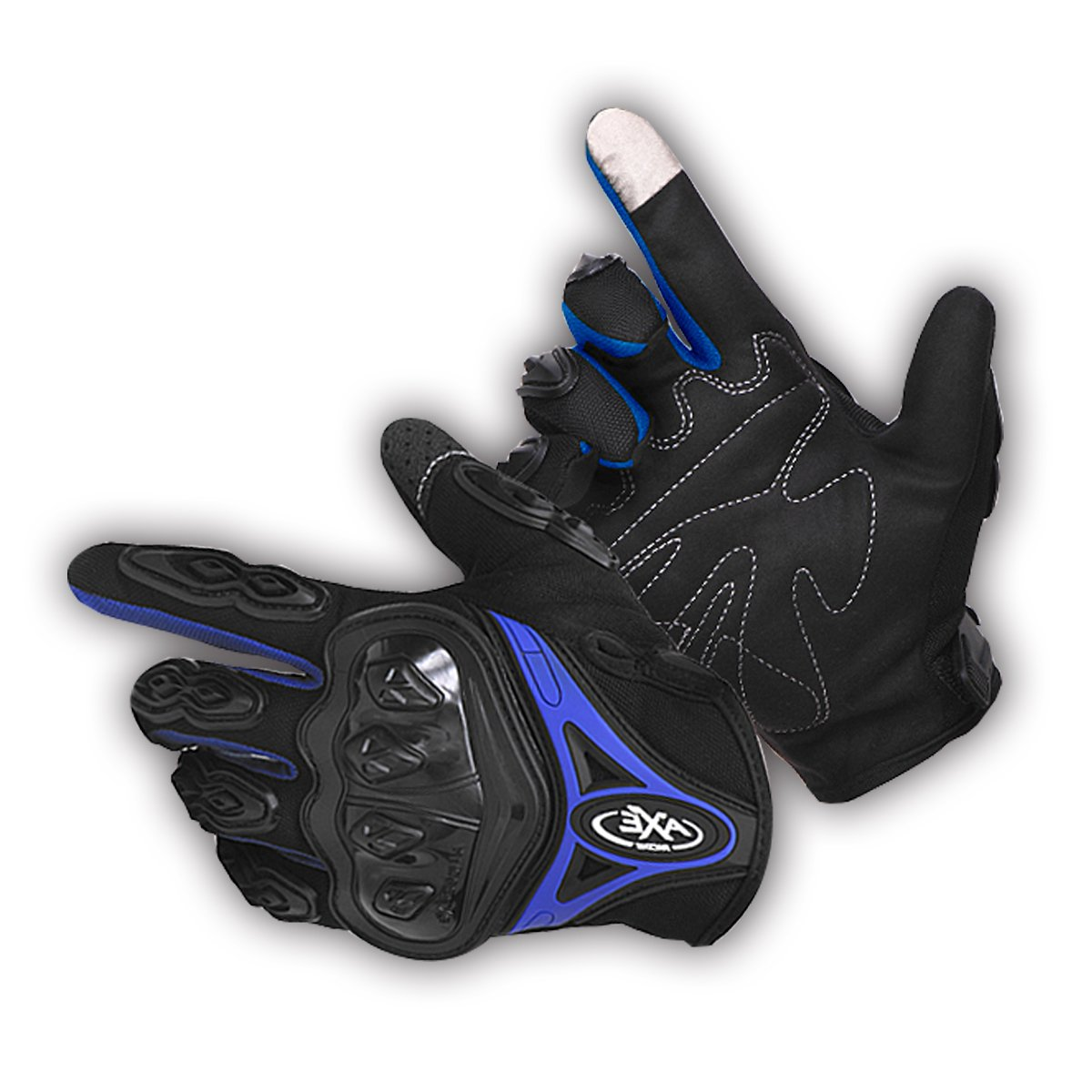 Onway Men & Women Full Finger Motorcycle & Powersports Gloves with Touchscreen Support Protective Gear