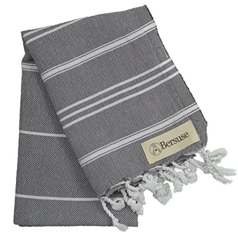 Bersuse 100% Cotton - Anatolia Hand Turkish Towel Pestemal -