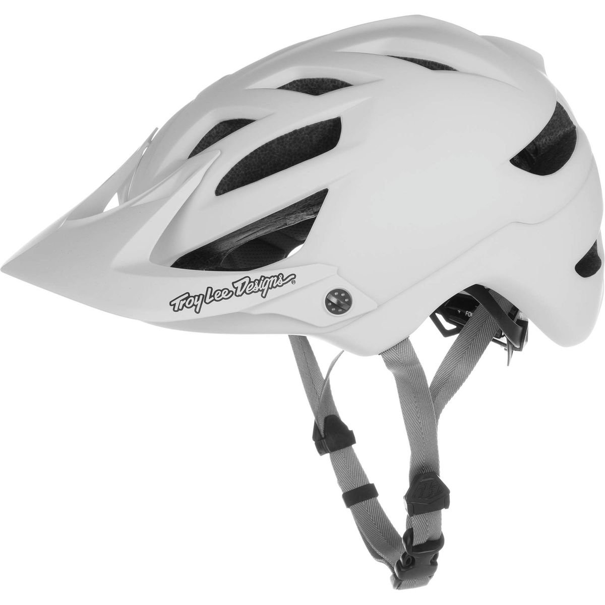 Troy Lee Designs A-1 Helmet Drone White/Grey, M/L by Troy Lee Designs (Image #1)