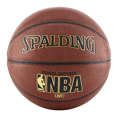"Spalding NBA Zi/O Indoor/Outdoor Basketball - Official Size 7 (29.5"")"