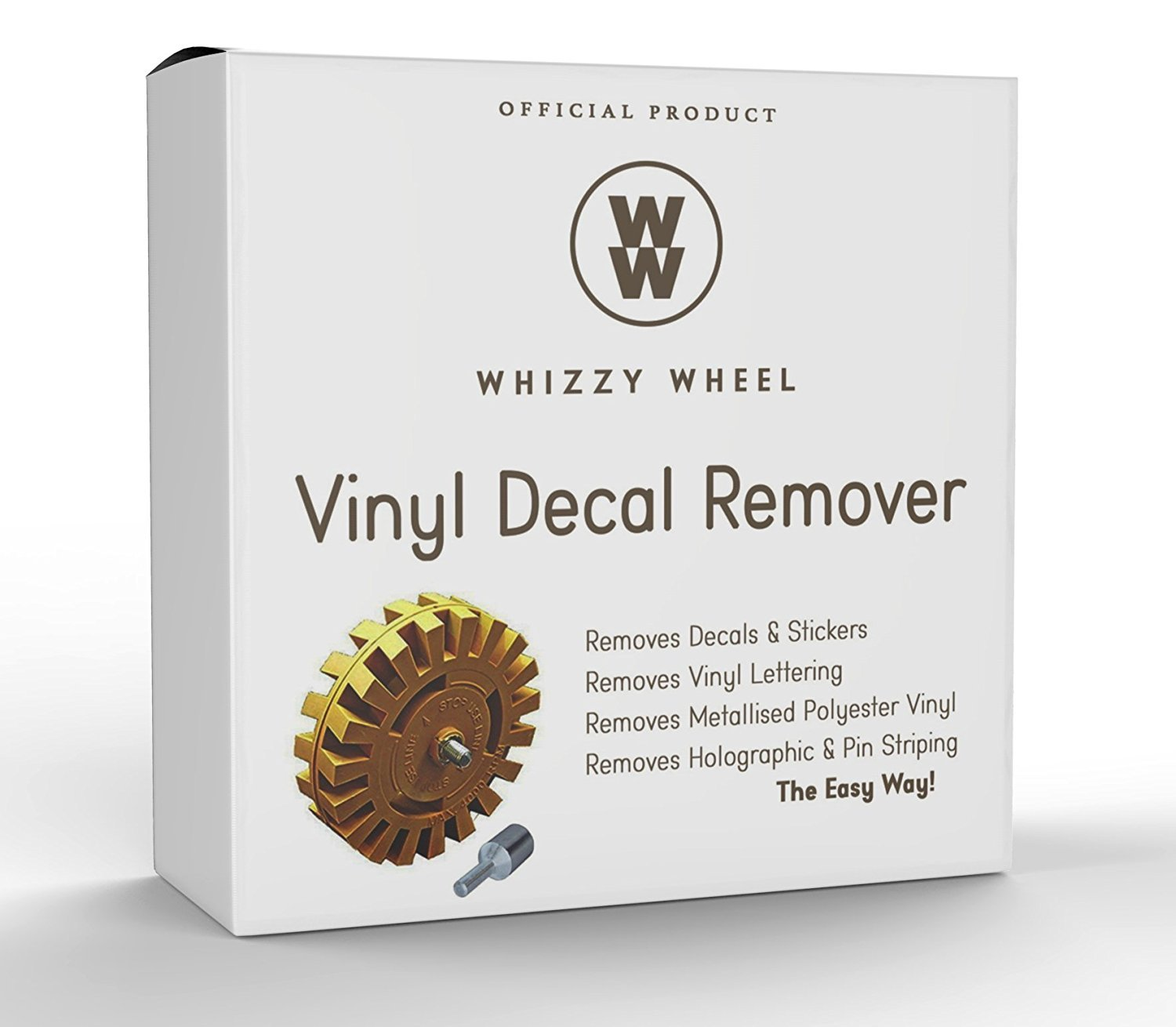 Amazoncom Whizzy Wheel Car Decal Remover With Drill Adapter Kit - Custom vinyl decals for cars removal options