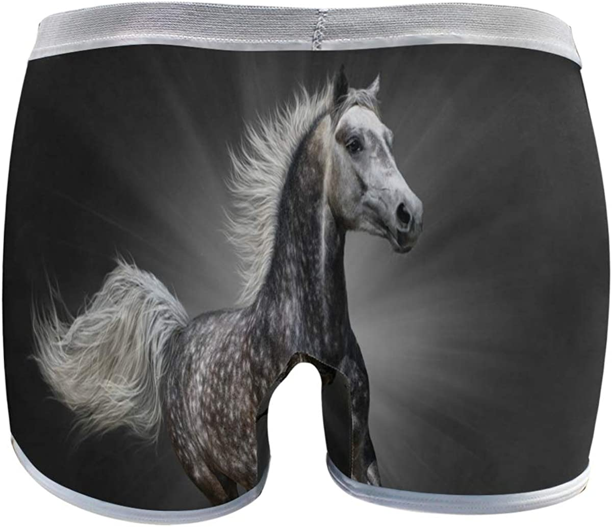 Black Horse Basics - Calzoncillos Cortos para Mujer: Amazon ...