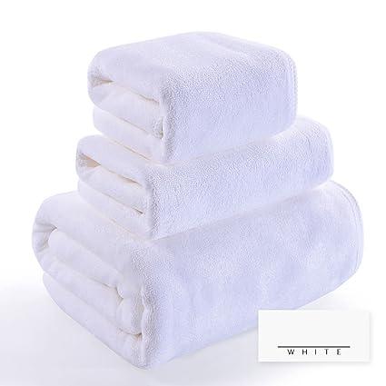 Toallas CHENGYI Microfibras baño Hogar Adulto Niño Algodón Puro Suavemente Absorbente baño baño * 1 2
