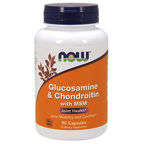 Amazon.com: Now Foods Glucosamine & Chondroitin with MSM 355: Health & Personal Care