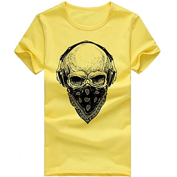 OHQ Camiseta Estampada para Hombre Blanco Humor Pareja Hombre Deporte Moda Chic Camiseta Manga Corta Camiseta Camisa Manga… lJJ4LIn