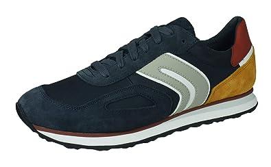 Geox Sneakers Uomo Vincit U945VC 022K4, Avio, 41: Amazon