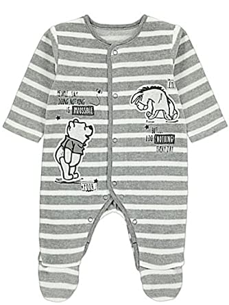 3fafbe35a Licensed Disney Baby Boys Winnie The Pooh Sleepsuit (9-12 Months ...