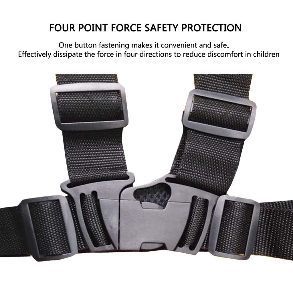 Cintura di Sicurezza per Motocicletta Imbracatura di Sicurezza per Auto Elettrica Multifunzione a Prova di Caduta Regolabile Imbracatura di Sicurezza per Bambini
