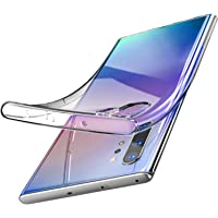 TOZO for Samsung Galaxy Note 10 Plus Case Premium Clear Soft TPU Gel Ultra-Thin [Slim Fit] Transparent Flexible Cover for Samsung Galaxy Note 10+ 5G[Clear Gel]