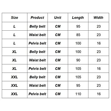 8be7fc5940 Amazon.com  Enjoygous 3 in 1 Postpartum Pregnancy Girdle Support Recovery  Belly Band Corset Wrap Body Shaper Abdominal Waist Trimmer Slimming Belt  for After ...