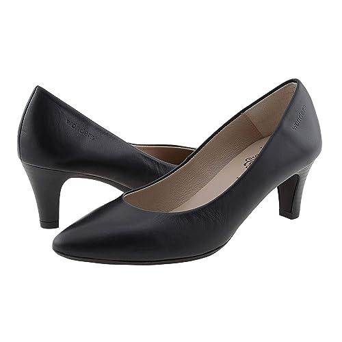 Salón es Zapatos ColorNegroAmazon Wonders 6330 Piel I Talla36 0wOmNnv8
