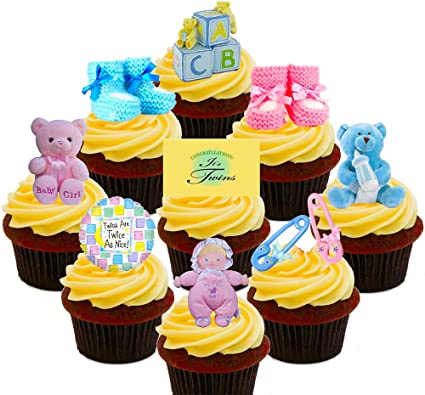Cake decorations for baby shower uk