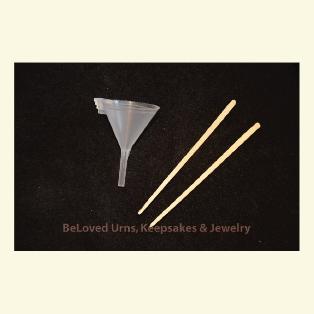 Funnel Kit For Filling Cremation Jewelry Urns and Keepsakes with Ashes Avail Now! na