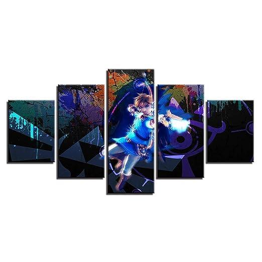 JXKEF Combinación 3D Anime Zelda Legend Background Painting ...