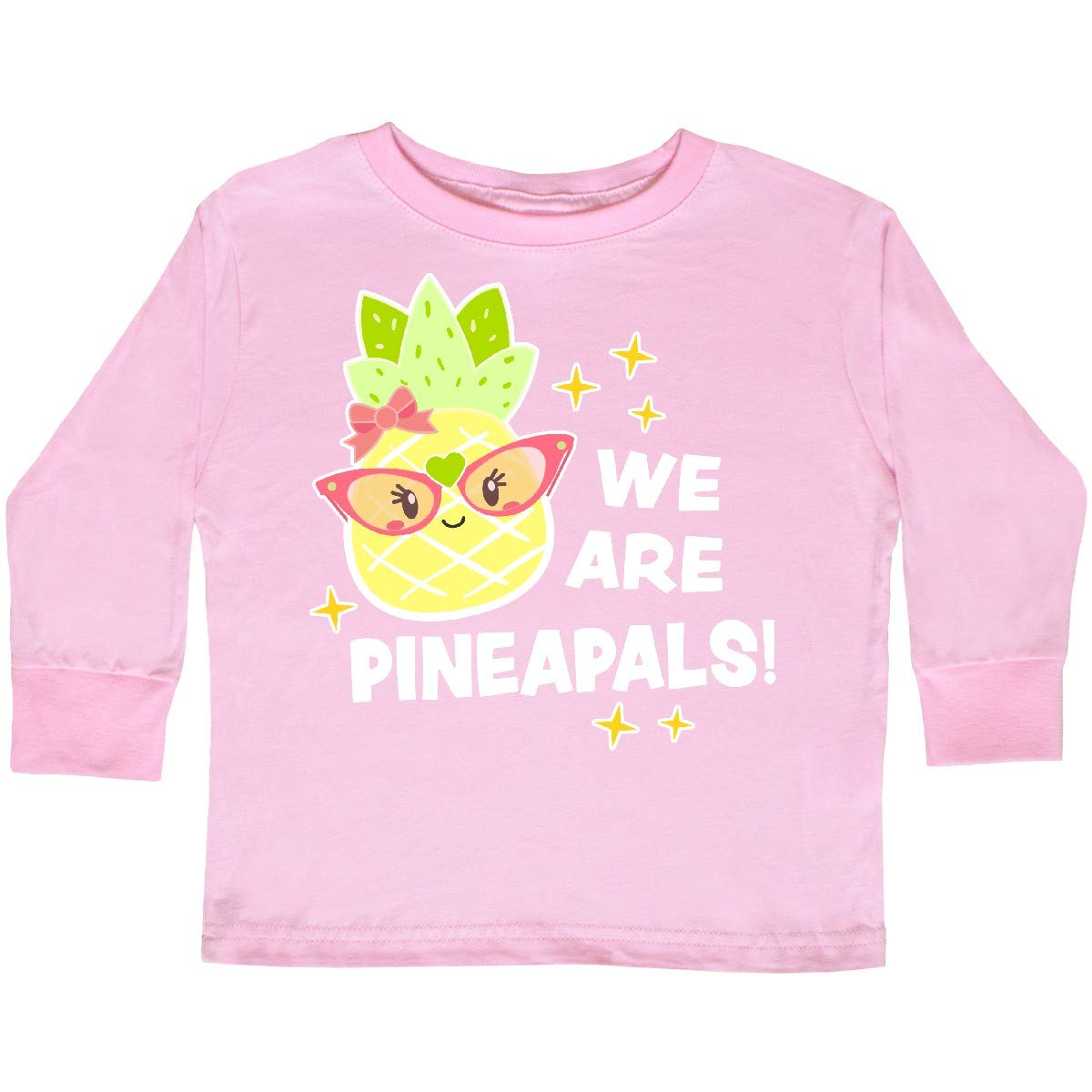 inktastic We are Pineapals with Cute Pineapple Toddler Long Sleeve T-Shirt