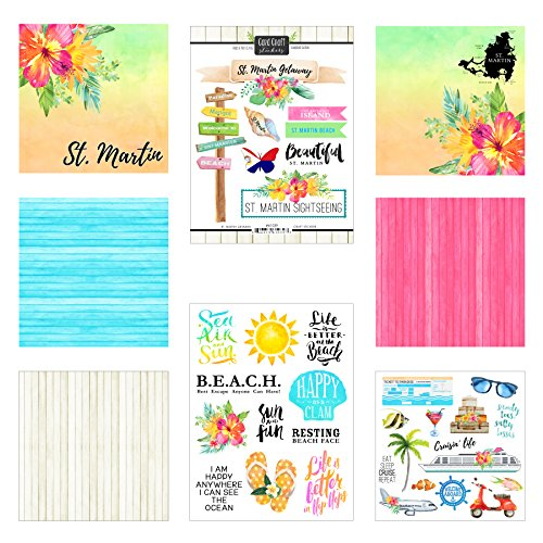 (Scrapbook Customs St. Martin Getaway Scrapbook Kit)