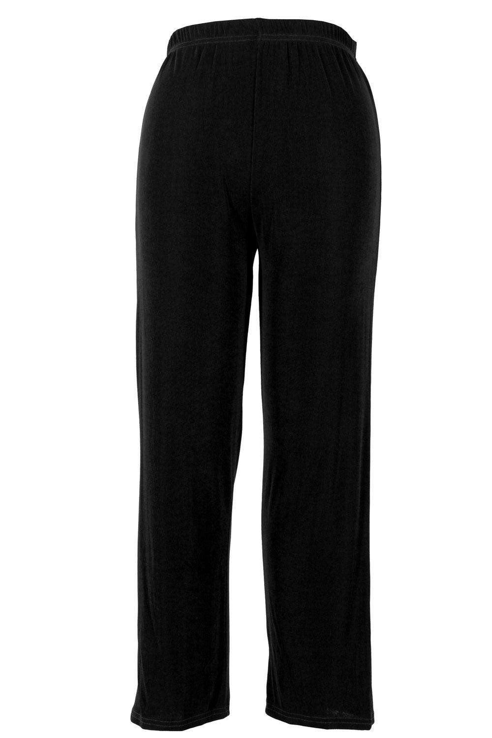 Jostar Acetate Big Pants with Plus Sizes in Black Color in 3XL Size