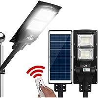 LED Solar Street Flood Light Motion Sensor Remote Outdoor Garden Lights 120W
