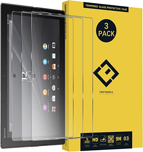 """10.1/"""" Clear Tablet Glass Screen protector Guard For Sony Xperia Z4"""