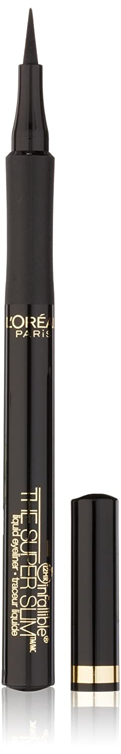 L'Oreal Paris The Super Slim Eyeliner by Infallible, Black, 0.034 Ounce. L' Oreal Paris Inf-2400
